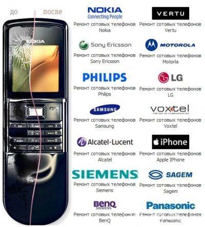 Ремонт мобильных телефонов в Кстове